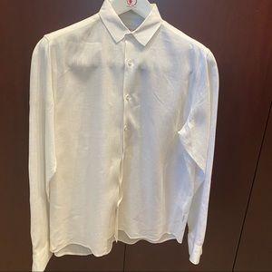 Orlebar Brown Long Sleeve Linen Shirt